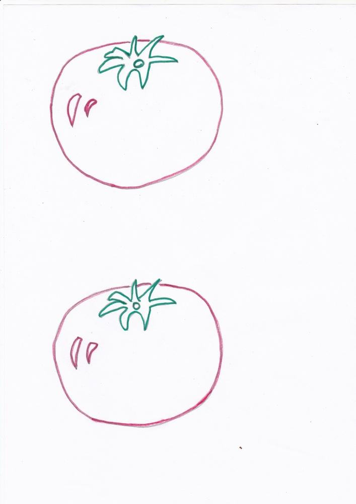 Imagini de colorat cu legume de toamna (1/6)