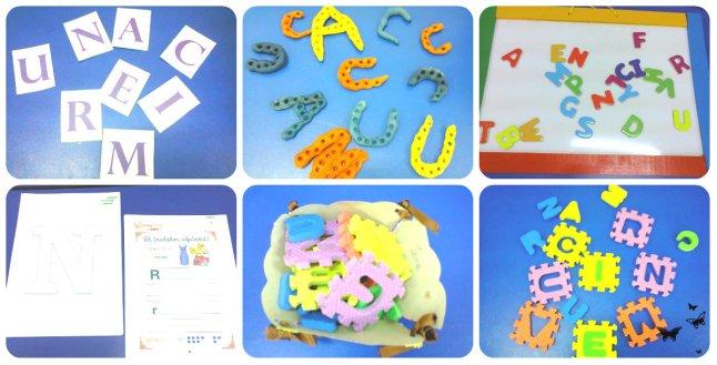 invătam alfabetul la gradinita-joc