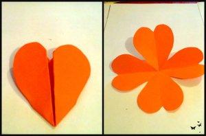 flori din inimioare