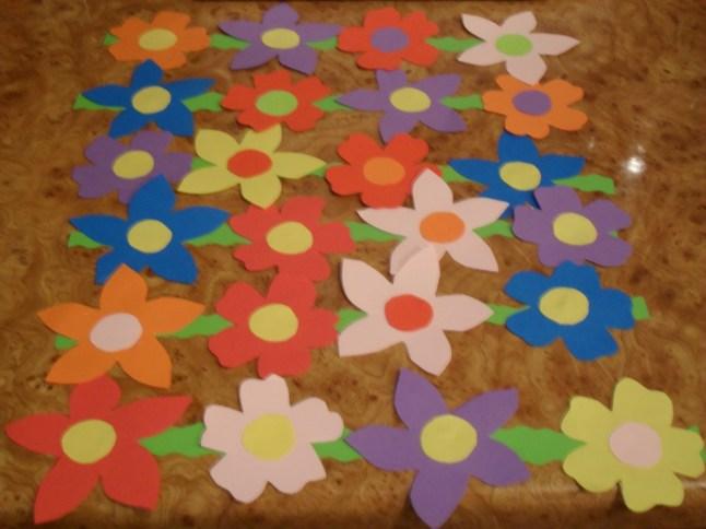 ghirlande flori pavoazare