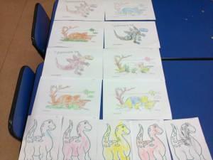 desene dinozauri