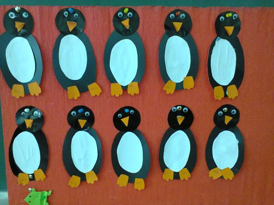 pinguini activitate practica gradinita