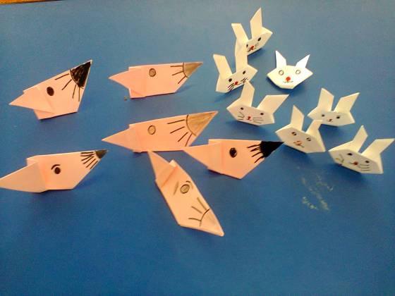 origami gradinita