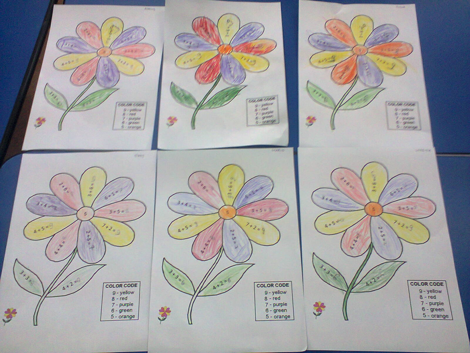 Floarea Fișă De Lucru Jurnal De Prichindei