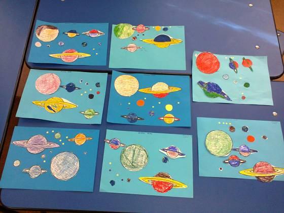 sistemul solar gradinita