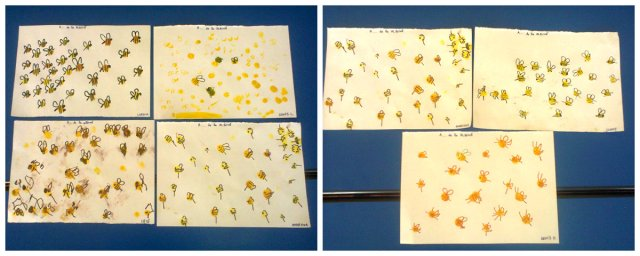 bee preschool craft