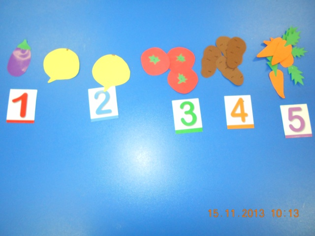 activitate matematica gradinita
