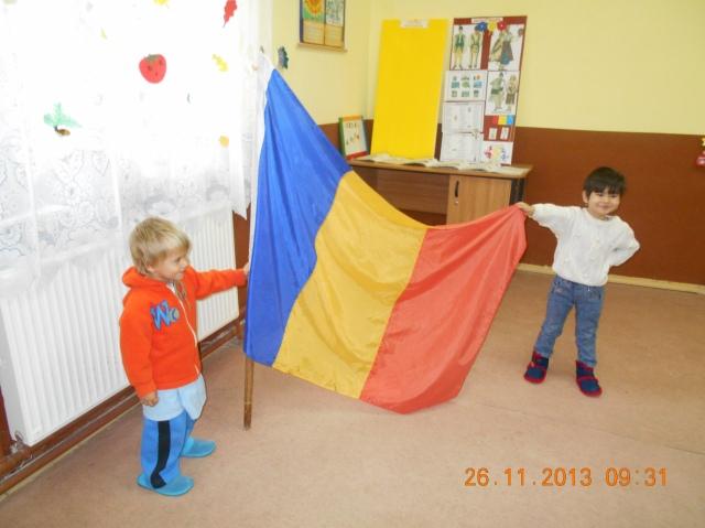 Mândrul românaș ( idei de activități pentru 1 Decembrie)