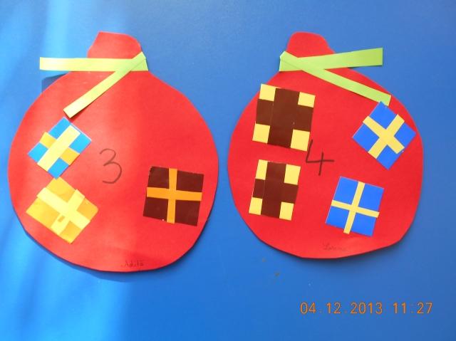 sacul lui Mos Nicolae activitate matematica