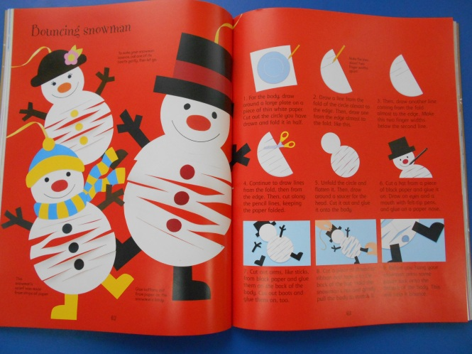 bouncing snowman